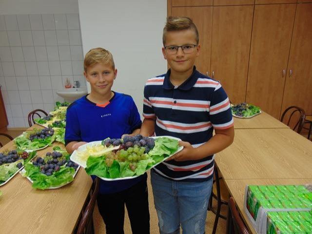 Zöldség – gyümölcs ismereti vetélkedő