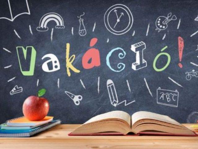 Közlemény az iskolai nyári munkarendjéről