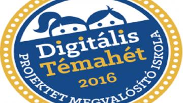 Digitális Témahét 2016. április 4-8.