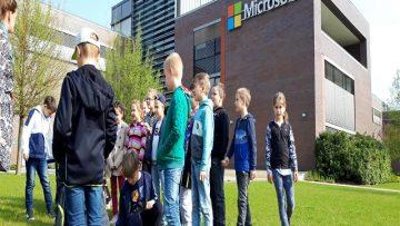 Foglalkozás a Microsoft Magyarország Kft. székházában