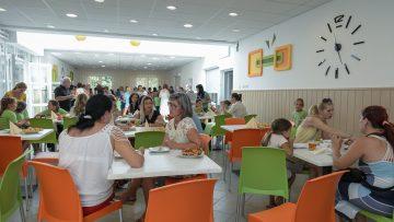 Megújult az iskolai ebédlő
