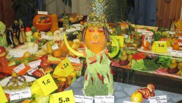 Zöldségből szobor - eredményhirdetés
