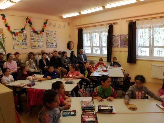 Pétervásárai általános iskolába látogattunk